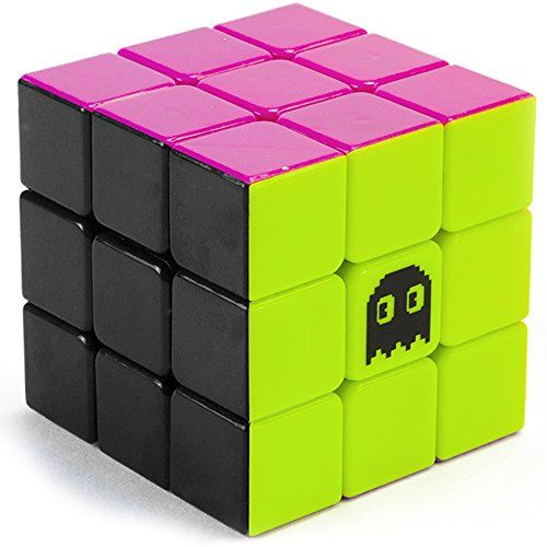 3 x 3 Stickerless Neon 80s Mod Puzzle Cube Engineered for…
