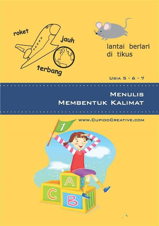 jual buku anak, belajar menulis & menyusun kalimat untuk latihan anak SD