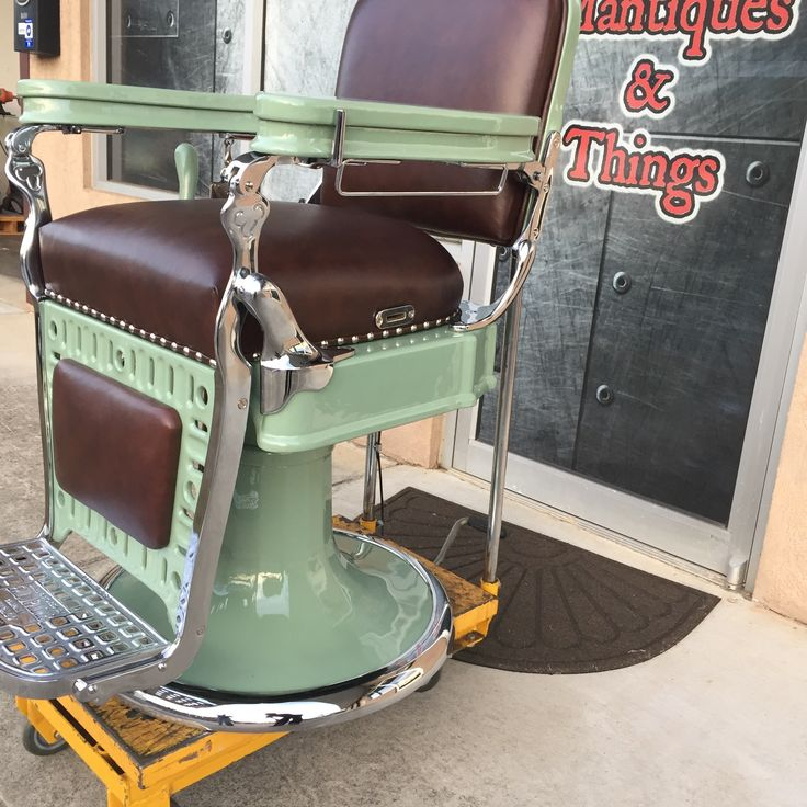 17 Best Images About Restored Antique Barberchairs On