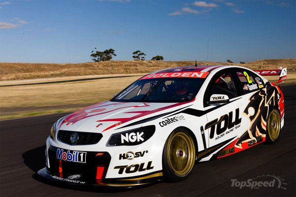 2013 Holden VF Commodore V8 Supercars Racecar By Holden Racing Team