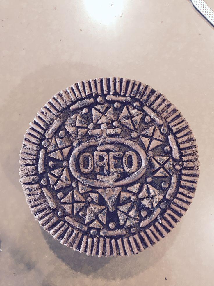 Oreo cookie cake. No Fondant , all chocolate