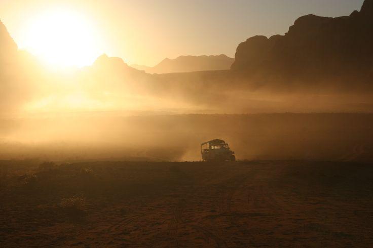 Good Morning Wadi Rum, Kingdom of Jordan.