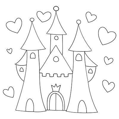 Malvorlagen Schloss Prinzessin My Blog