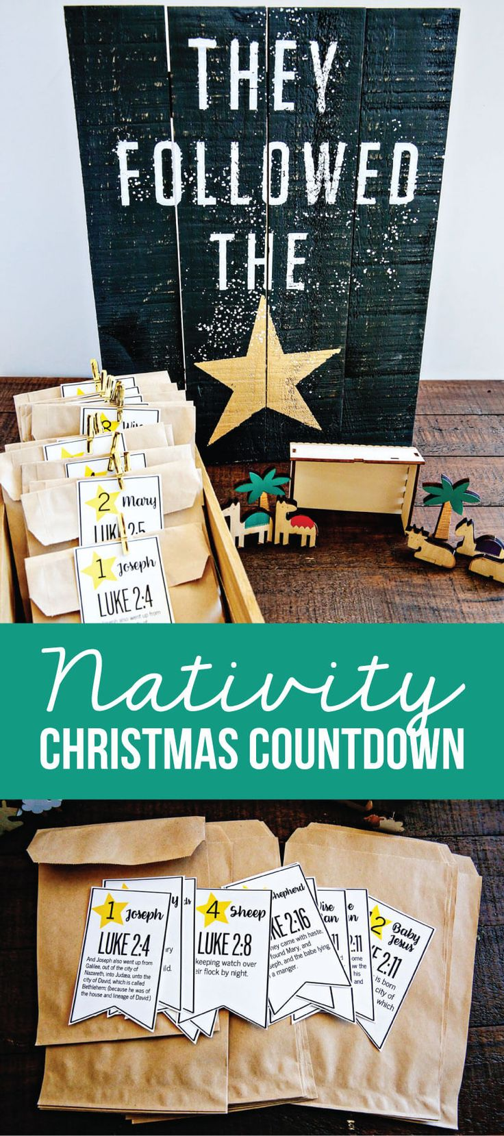 Nativity Christmas Countdown ,  Mique Provost  30daysblog