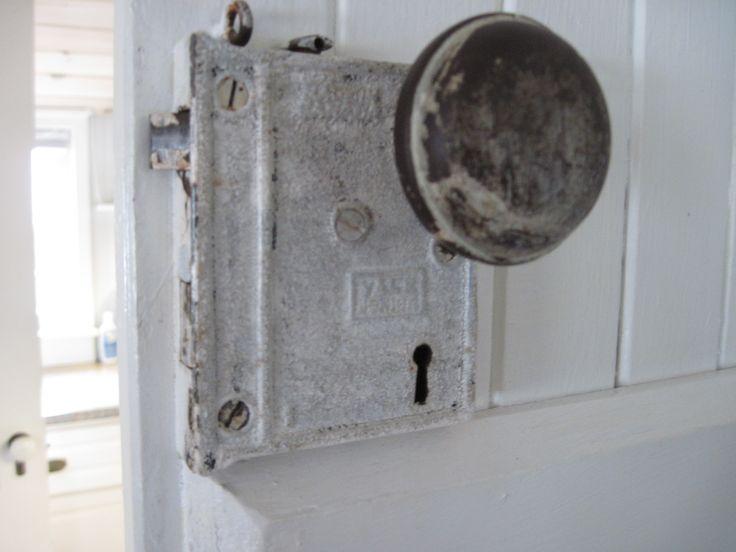 Old door knob, Toabh Na Mara Cottage, Pugwash, Nova Scotia, Canada.  Photo Cynthia Bennett