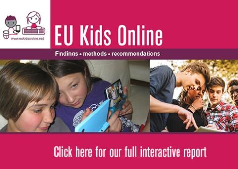 Cover of the interactive EU Kids Online Final Report