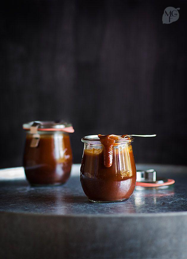 Salsa barbacoa con whisky | Recetas con fotos paso a paso El invitado de invierno