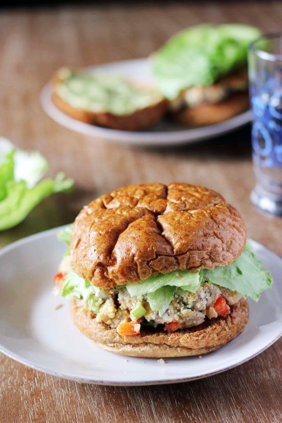 Ahi Tuna Burgers are a healthy, unique twist on your typical summer hamburger. Feel free to use frozen tuna steaks to make it a little more budget-friendly!