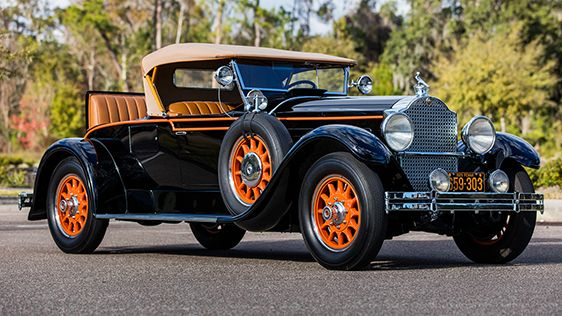 1929 Packard 640 Custom Eight Runabout