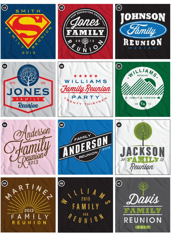 family reunion t-shirt ideas | SHIRT IDEAS, CUSTOM T-SHIRT IDEAS, T-SHIRT IDEAS, FAMILY REUNION ...