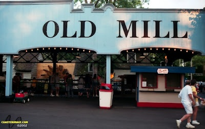 RIP Old Mill. Piece of history gone from Kennywood Park.