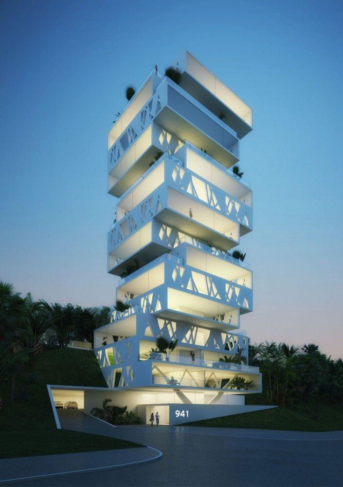 The Cube / Orange Architects Fazer topico c/ esses predios e dizer primeira palavra q vem na cabeça