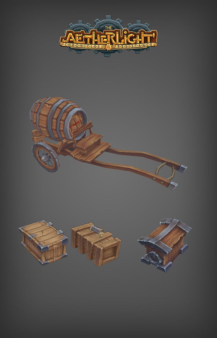 ArtStation - The Aetherlight - Props, Environment textures and stuff, Bronson Bradley