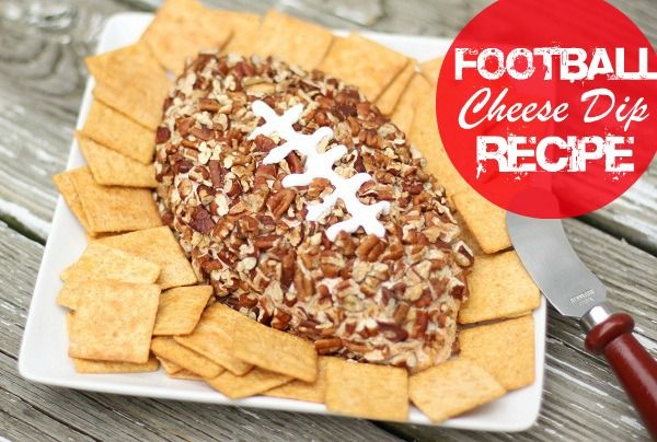 Football Cheese Dip Recipe #HomegateFever