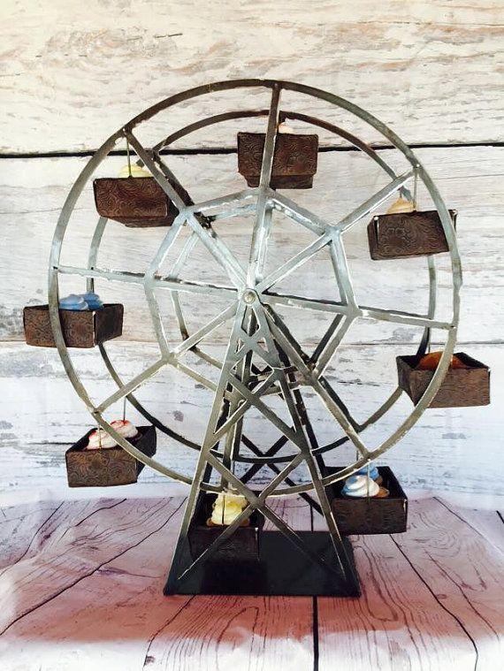 Ferris Wheel Party Centerpiece - Ferris Wheel Cupcake Holder - Ferris Wheel…