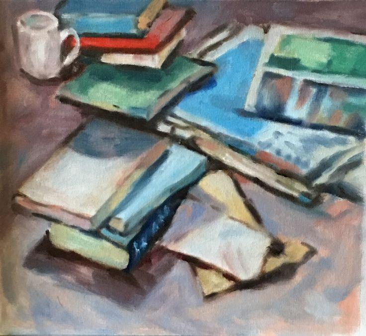 Study #7. 2017. 12 x 11. Oil on Canvas.