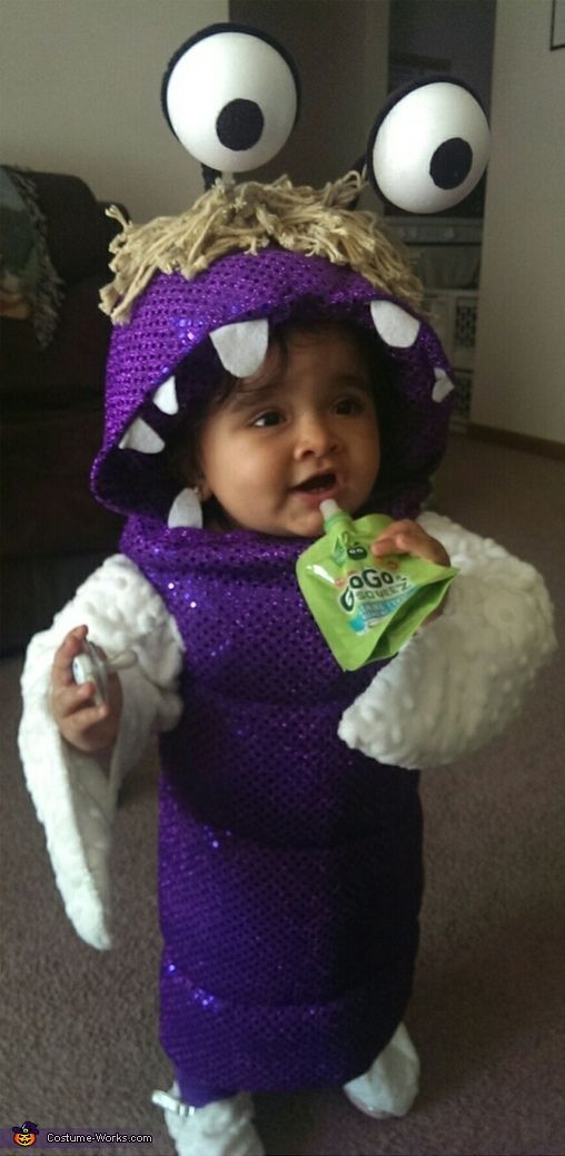 Boo from Monsters Inc. - 2014 Halloween Costume Contest via @costume_works #Boo #Monster'sInc #Costume