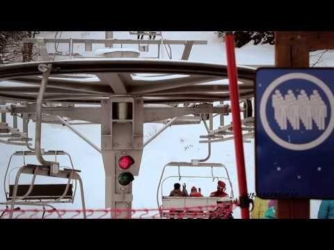 Bachledova dolina zima, lyžovanie, zábava - YouTube
