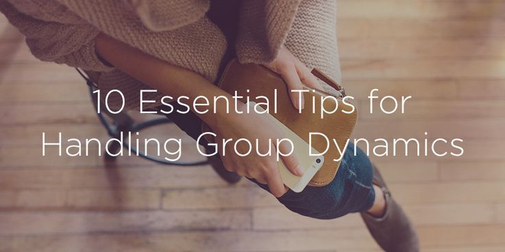 If you've ever led a small group, you know it can be tricky. Here's some advice for handling your small group dynamics.