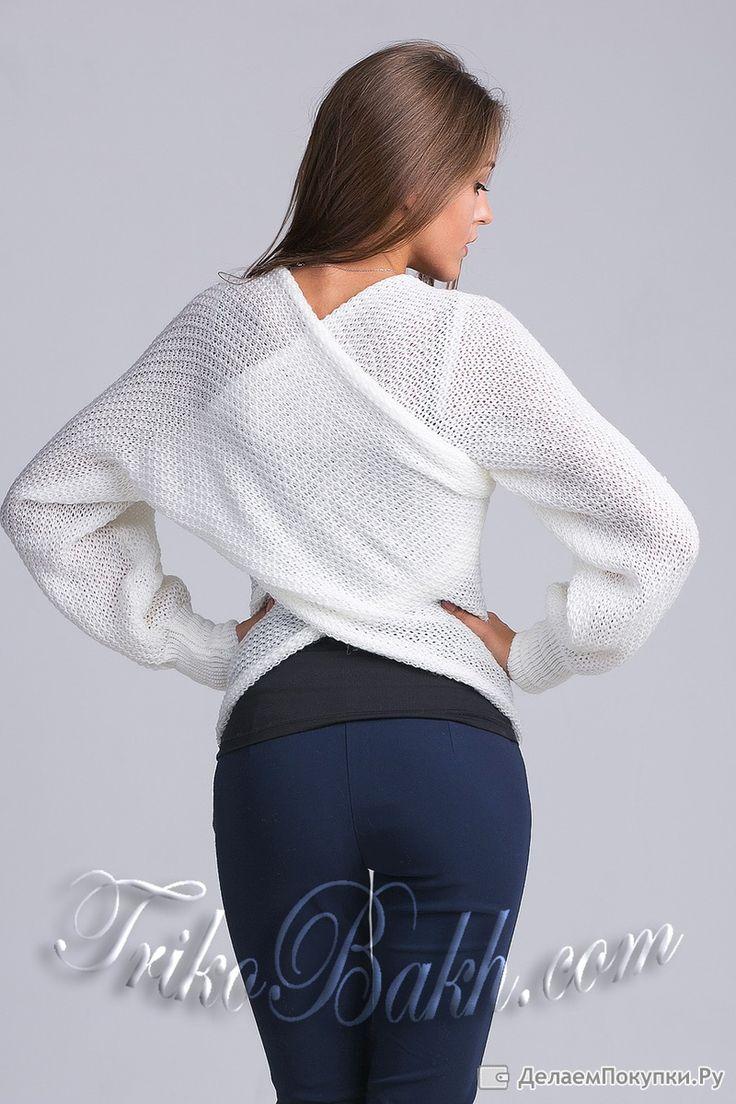 Шарф-свитер