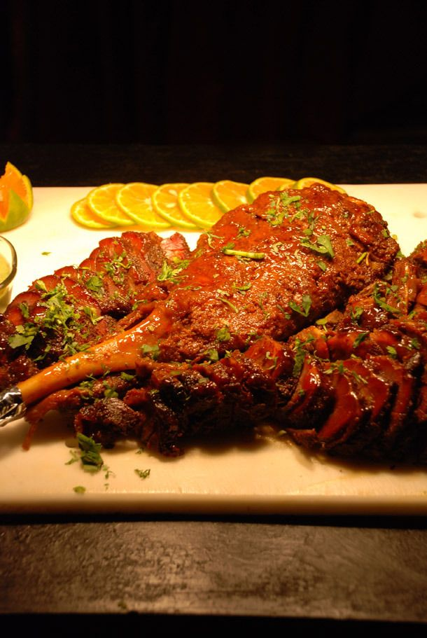 Sikarni Raan / Marinated Lamb Shank from Nepal