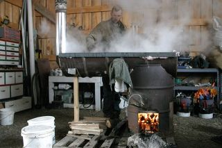Maple Syrup Rocket Stove Evaporator Rocket Stove