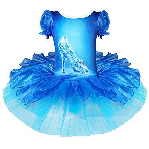Oferta: 8.99€ Dto: -53%. Comprar Ofertas de iEFiEL Disfraces de Princesa Infantil Vestido de Danza Tutú Ballet Fiesta para Niña con Braga Interior Azul 2-3 años barato. ¡Mira las ofertas!
