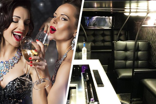 Party Bus, Club Entry & Champagne