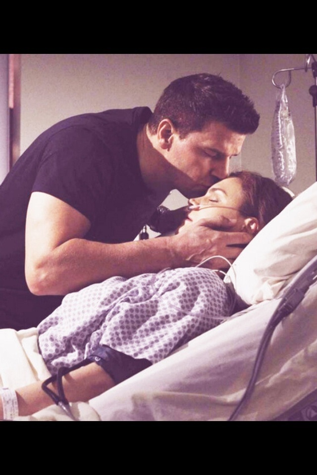 Oh Booth, you're a beautiful man and Brennan deserves to know how you feel.