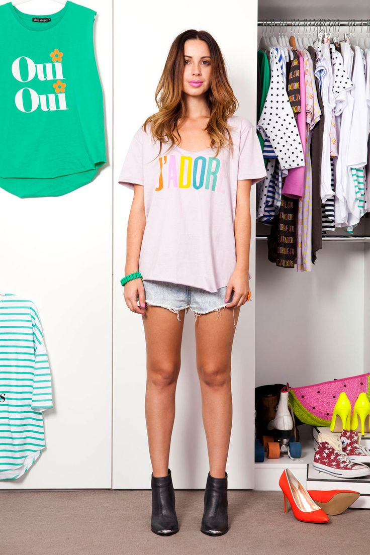 Chip Chop! - J'ADORE Scoop Neck Tee In Lilac, $69.00 (http://www.chipchop.com.au/jadore-scoop-neck-tee-in-lilac/)