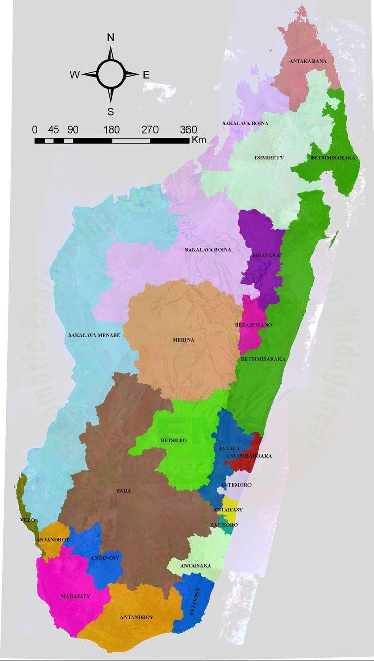 Les ethnies de Madagascar