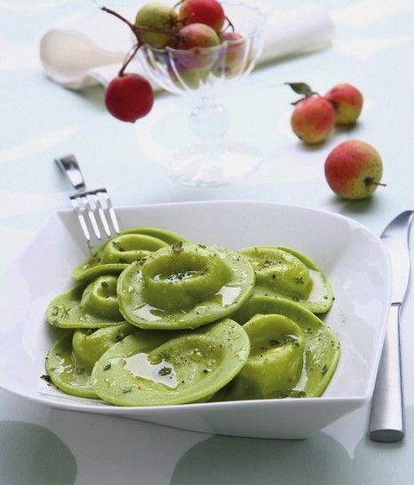 ravioli-verdi-con-ripieno-di-fonduta preparazione