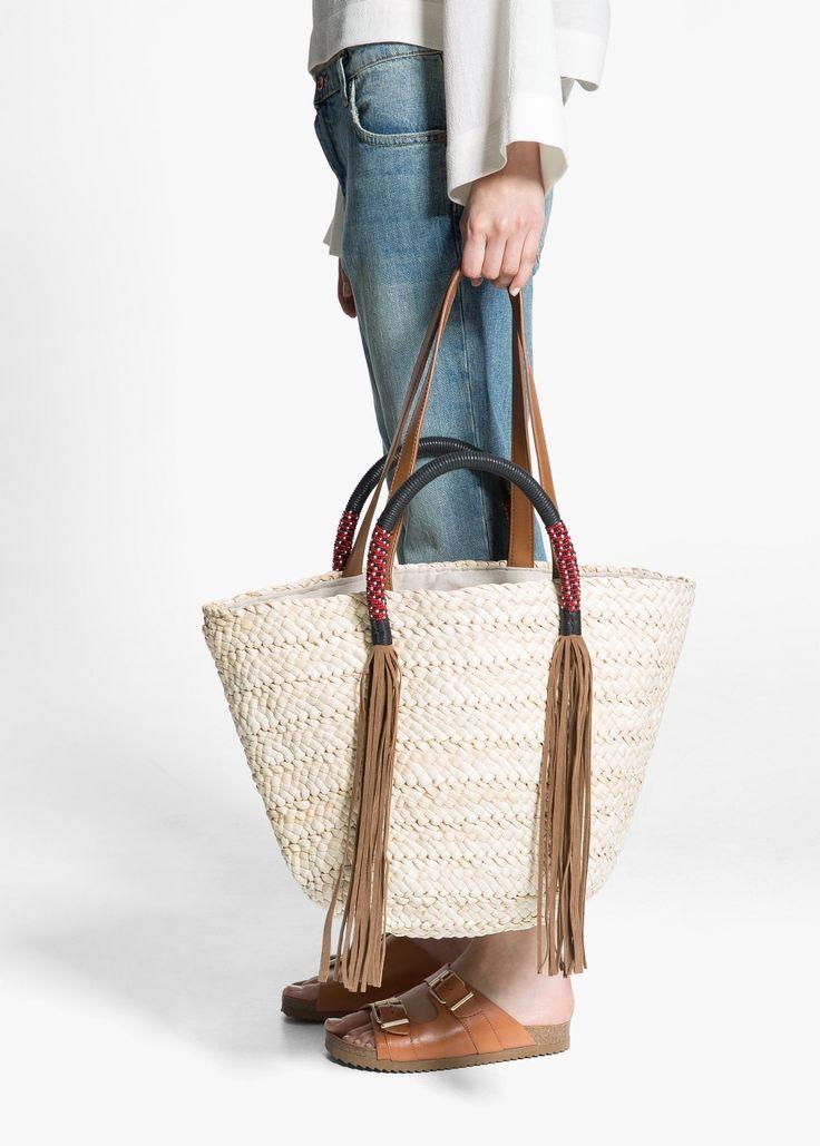 Strandtassen Primark : Beste idee?n over strooien tas op mand