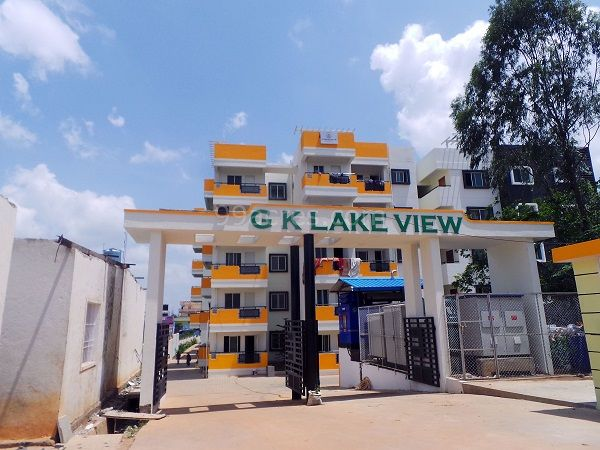 GK lake view  2 & 3 BHK apartments .A project of GK shelters(Member of CREDAI)