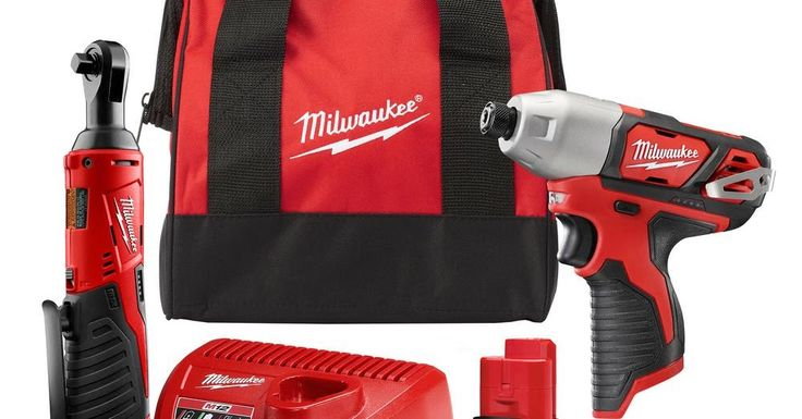 Home Depot ~ Select Milwaukee Combo Kits 50% Off + Free Shipping
