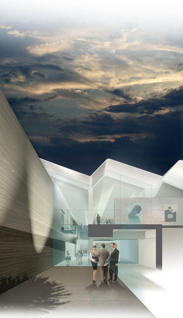MOCAK, museo d'arte contemporanea a Cracovia, Concorso - Claudio Nardi Architects