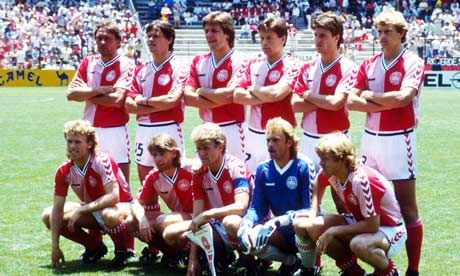 A breath of fresh air in 1986, Denmark played high tempo football but ran out of gas against Spain. Their team included some fantastic players including Michael Laudrup and Frank Arnesen.