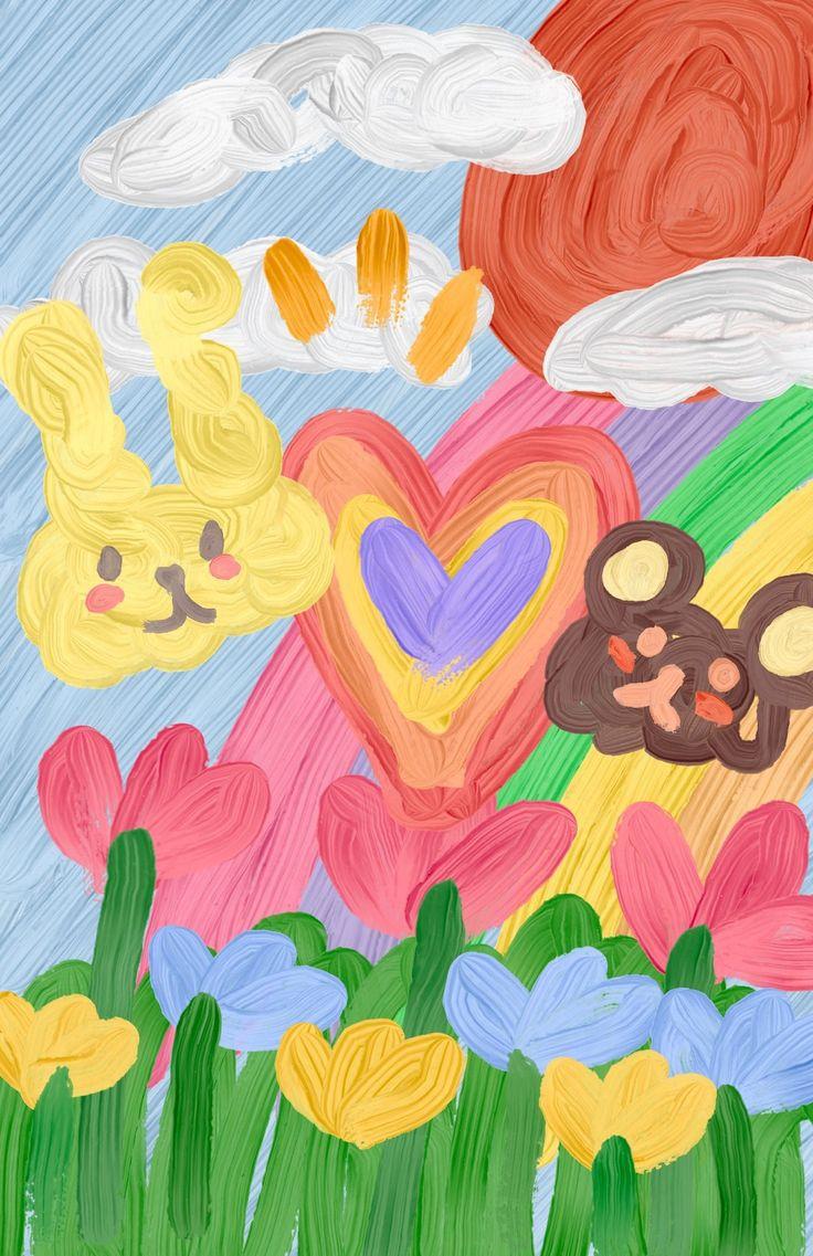 Pin oleh Natthakan sookthanapaiboon di Cute drawings ...
