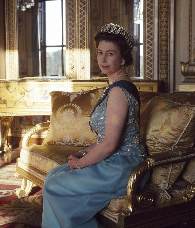 A Vogue survey of the queen's outfits over a 12 month period showed that blue (everything from periwinkle to powder) was overwhelmingly her favourite colour at 29 per cent followed by green, cream, pink and purple