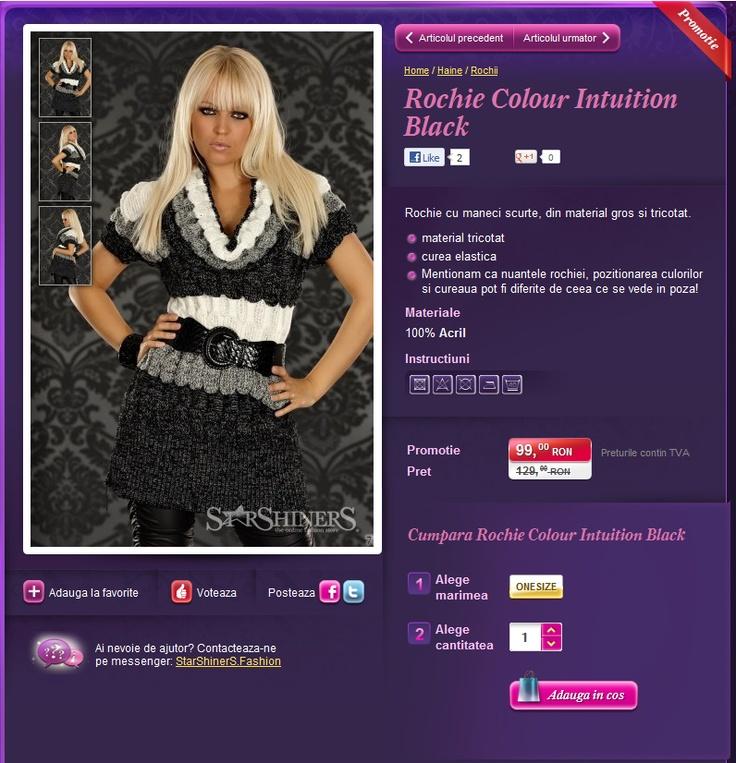 Haine Dama Reduceri, sunt promotii prin magazinul Starshiners. Haine de cea mai buna calitate. Cumparati online!