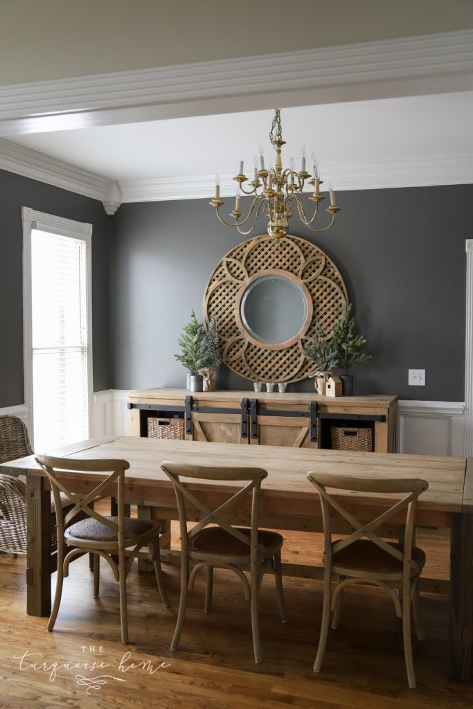 The Best Home Decor Paint Colors Kendall Charcoal The Turquoise Home In 2020 Dining Room Paint Dining Room Wall Color Dining Room Paint Colors