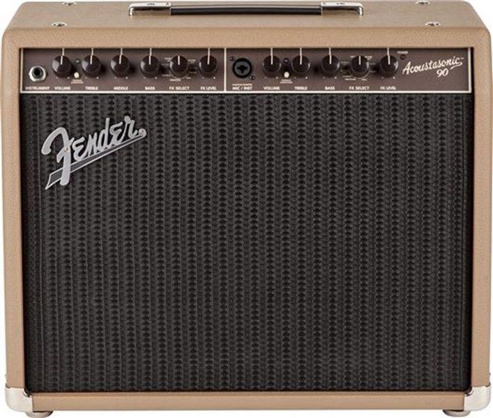 New Fender Acoustasonic 90 Acoustic Guitar Amp Fender Acoustic Guitar Amp Fender Guitar Amps Guitar Amp