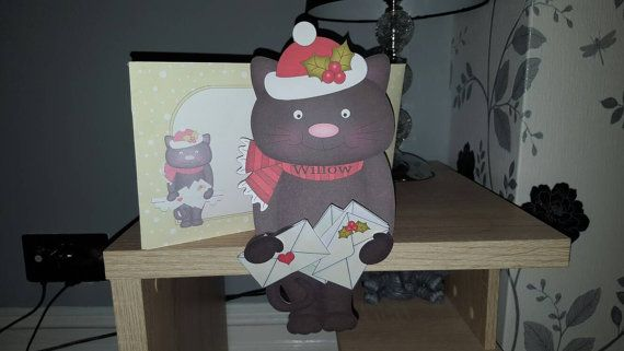Check out this item in my Etsy shop https://www.etsy.com/uk/listing/493280265/black-cat-card-christmas-keepsake