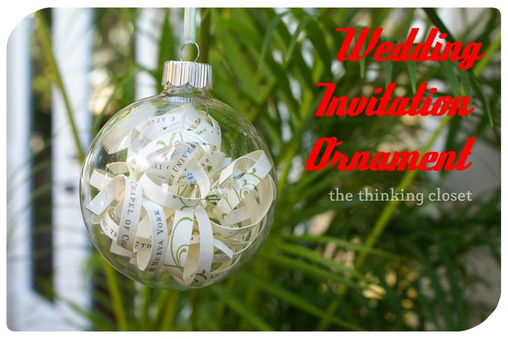 Wedding Gift Ornaments: Best 25+ Wedding Invitation Ornament Ideas On Pinterest