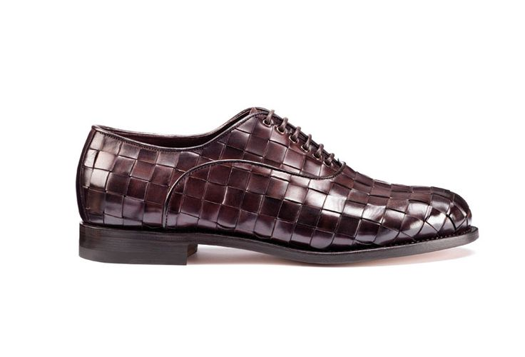 Santoni | Derby in intertwined calfskin. Good year cpnstruction #SpringSummer15 #SantoniShoes
