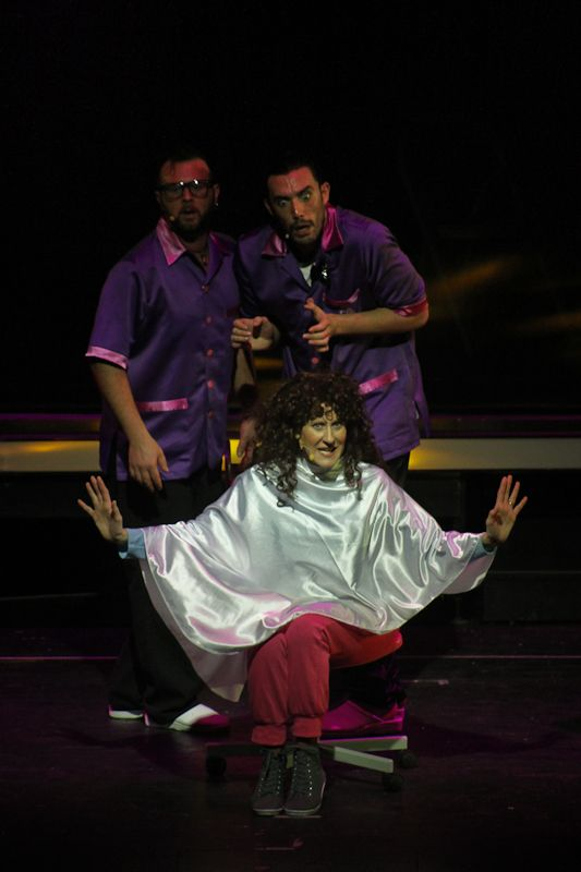 Lisa Angelillo (Cinzia), Andrea Bottesini (Dan), Gianluca Roncari (Gabri)
