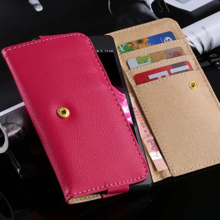 100pcs/lot Universal Wallet leather Case For iphone 4 4s 5 5s 6 6G for samsung galaxy S3 S4 S5 for HTC M8 M7 M4 cell phone cases