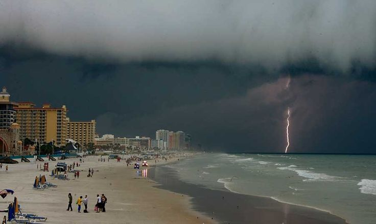 Storm Over Daytona Beach Florida My State Pinterest
