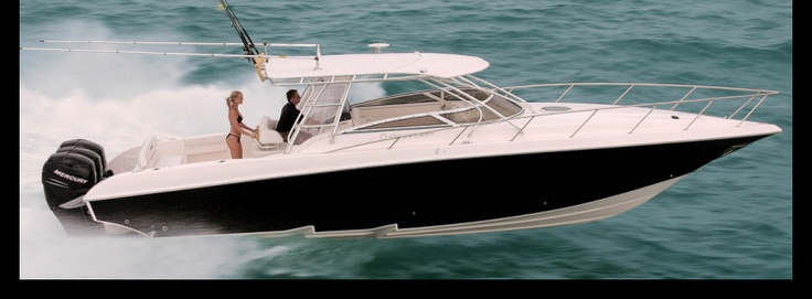 New 2012 Fountain Boats 38 Luxury Edition Express Fisherman Boat