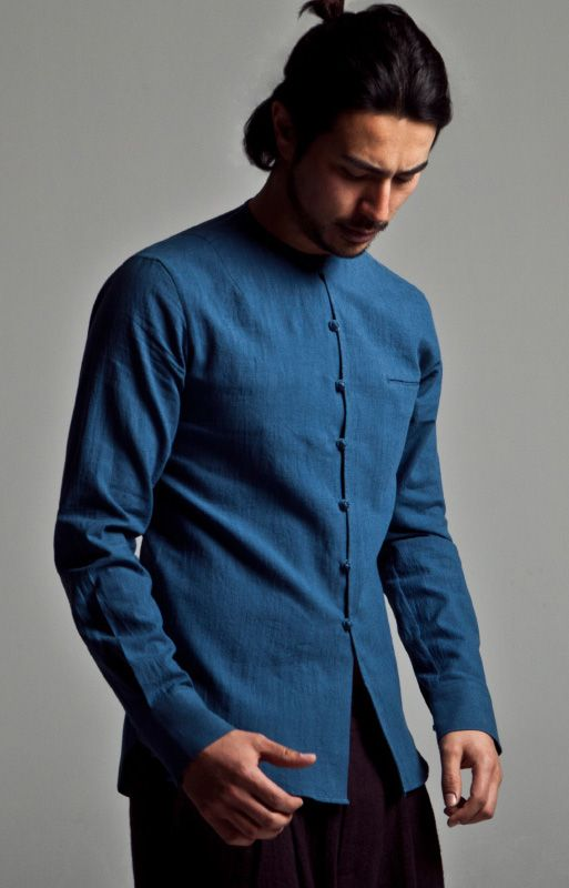 Men's Fashion in Chinese style Cotton Linen Kungfu Martial Clothing http://www.99wtf.net/category/young-style/casual-style/